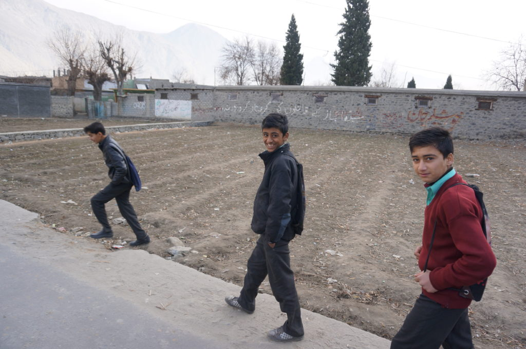 パキスタンでの写真