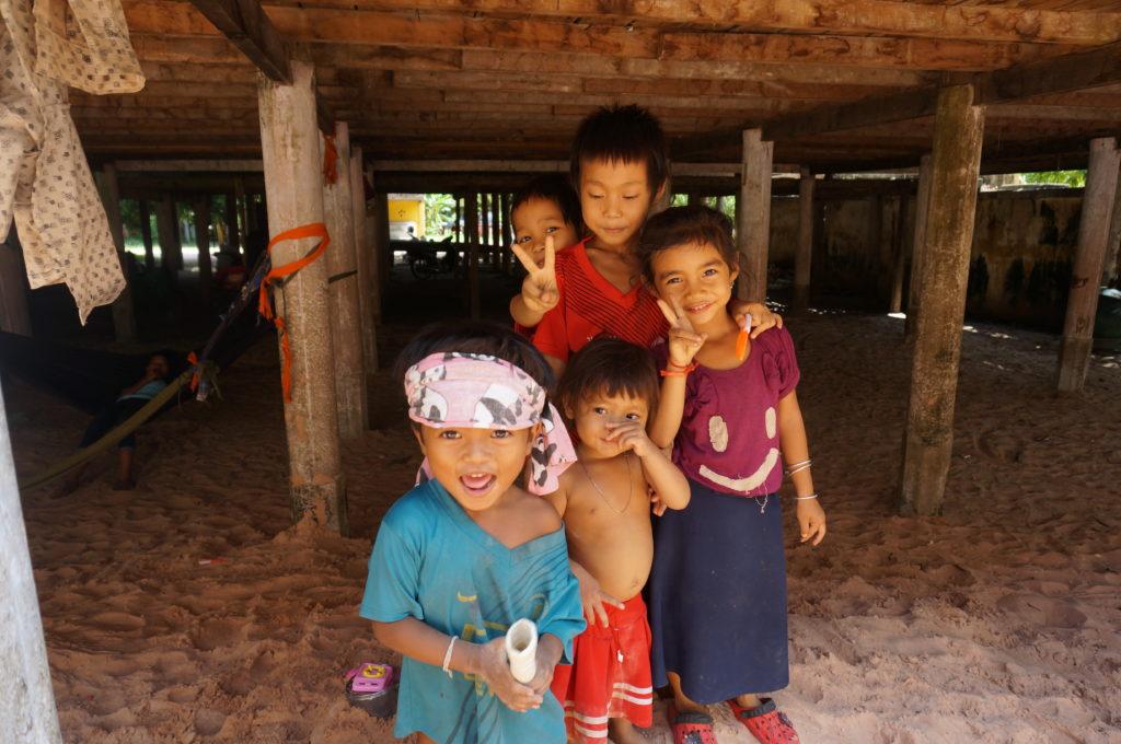 カンボジアでの写真